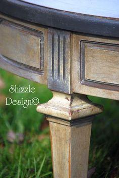 Annie Sloan table colors