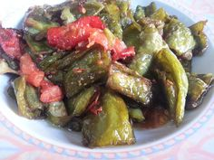 Momzcuisine : Pan Fried Bell Peppers with Tomatoes