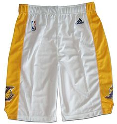 NBA Los Angeles Lakers Youth Boys 820 Replica Alternate Shorts XLarge 1820  White     Check out the image by visiting the link. 3e62ea3e0