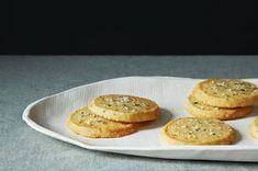 Cheese Sables with Rosemary Salt  100	grams soft butter 100	grams self-rising flour 100	grams strong cheese, grated (I use 50/50 Parmesan and vintage cheddar) 1	pinch cayenne pepper 1	tablespoon fresh rosemary