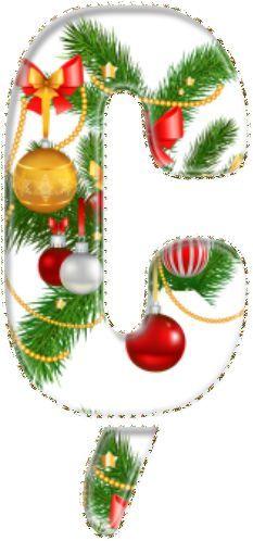 Resultado de imagen de abecedario navideño