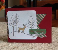 Rudolph is Merry & Bright by curlycoconut - Cards and Paper Crafts at Splitcoaststampers
