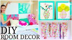 DIY Room Decor for Teenage Girls! | Cute, Easy, & Cheap!