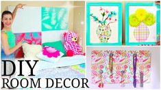 DIY Room Decor for Teenage Girls! | Cute, Easy, & Cheap!