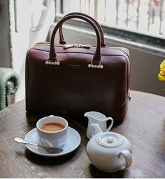 THE STORY BEHIND THE BOWLING BAG - Aspinal Of London Blog