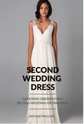 Choosing Dresses for a Second Wedding | Wedding dress, Weddings ...