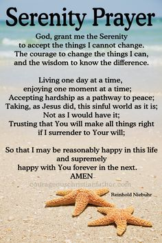 Image result for PIcture of the entire serenity prayer