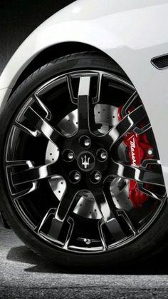 Maserati Granturismo's Rims