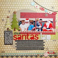 Image result for echo park season's greetings layouts
