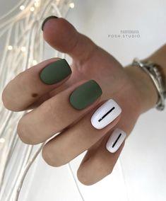 140 amazing spring nail art designs ideas to try – page 22 Cute Acrylic Nails, Cute Nails, Pretty Nails, My Nails, Matte Nail Art, Spring Nail Art, Spring Nails, Minimalist Nails, Nail Polish Strips