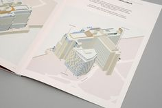Rebranding a London landmark. Brochure plans - dn&co. Sea Containers, London Landmarks, Brochure Design, Product Launch, Infographics, Urban, 3d, Flyer Design, Infographic