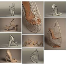 MARLA MARCHANT 3d printed heel