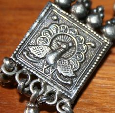 Rajasthan Silver Jewelry - Peacock Charm