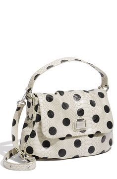 MARC BY MARC JACOBS 'Dotty Snake Little Ukita' Faux Leather Crossbody Bag
