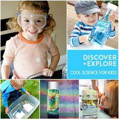 28 Fun Home Science Activities For Kids | MollyMooCrafts.com