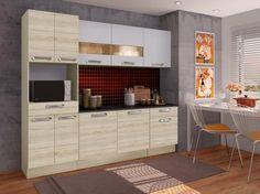 Cozinha Compacta Madesa Glamy Rubi com Balcão com as melhores condições você encontra no site do Magazine Luiza. Confira!