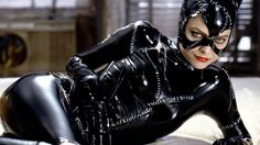 """For many Batman fans there is no question as to who portrayed the iconic Catwoman best. Oscar-nominated actress Michelle Pfeiffer says she """"loved"""" playing Catwoman in Tim Burton 's 1992 Batman Returns. Now in a recent interview with the New York Times Pf Catwoman Cosplay, Cosplay Gatúbela, Cosplay Costumes, Michelle Pfeiffer, Tim Burton, Superhero Villains, Best Superhero, Gotham Villains, Finals"""