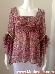 DECREE floral print semi-sheer blouse http://www.modaville.com/store/shop/adolfo-dominguez/adolfo-dominguez-dot-sheer-lined-skirt/