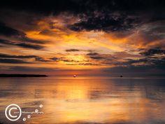 Sunrise at Sandy Bay, Castlegregory, Co Kerry. Ireland.