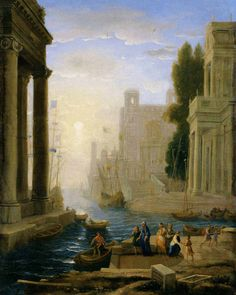 ABOUT THE ARTIST Claude Lorrain (1600-1682) Period: Baroque Claude Lorrain's pastoral scenes and the poetry of his vision were a source of great inspiration to the 18th and 19th century English landscape painters. His paintings are extremely detailed and he was a master in the use of light. In fact, he was the first artist …