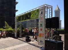 Out to Lunch Concerts in Downtown Seattle this summer.
