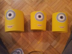 Minion hats for the babies