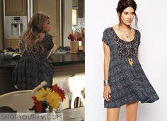 Modern Family: Season 6 Episode 12 Haley's Aztec Print Babydoll Dress