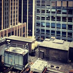 "@rssarma's photo: ""Rooftop #architecture #highrise #buildings #concretejungle #manhattan #newyork"""