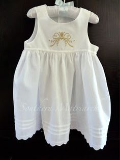 THe Old Fashioned Baby Toddler Slip Dress. Southern Matriarch using Toddler Summer Dresses pattern by OFB