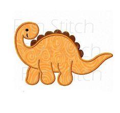 Machine Embroidery Applique, Applique Patterns, Applique Designs, Dinosaur Ornament, Dinosaur Crafts, Ornament Template, Jean Crafts, Baby Quilts, Baby Accessories