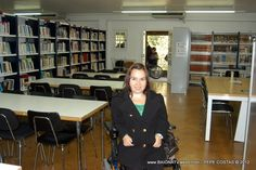 Acceso Biblioteca Municipal de Baiona - Encaixamos Val Miñor