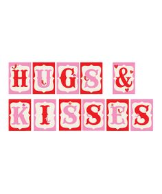 'Hugs & Kisses' Banner Mini Print Set | Daily deals for moms, babies and kids