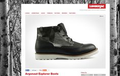THE UT.LAB pushes the limit of material innovation with their  all-season Argonaut Boot, a perfect challenger for the never ending concrete landscape. - Lumberjac.com | THE UT.LAB | In the media *