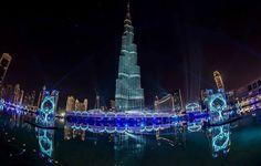 An amazing view that everyone wants to capture, Burj Khalifa, Dubai