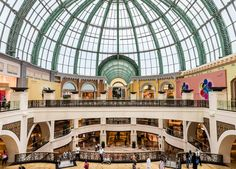 The Mall of the Emirates,This Dubai attraction is an entertainment destination as well as a shopping center. With 6.5 million square feet of total space and 2.4 million square feet of retail space, it contains more than 450 stores, an indoor ski park, rides, games, a cinema, a large community theater, an art gallery and more. Dubai Attractions, Ski Park, Wave Pool, Shopping Malls, Amazing Shopping, Retail Space, Shopping Center, Square Feet, Indoor