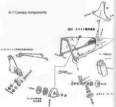 detalle de carlinga cierre FW 190