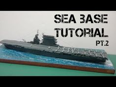 A step-by-step look at how I create ocean bases for ship builds using Liquitex Gloss Gel Medium. Modeling Techniques, Modeling Tips, Water Effect, Gel Medium, Liquitex, Military Diorama, Wooden Boats, Model Ships, Model Building