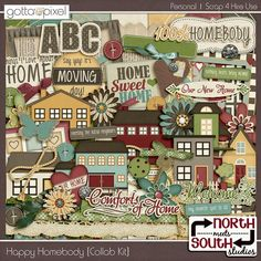 Collaborations :: Digital Scrapbook Kits :: Gotta Pixel Digital Scrapbook Store