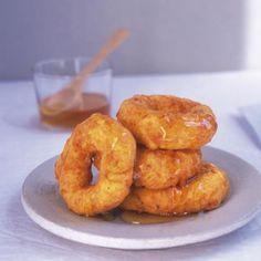 Picarones  (Sweet Potato and Pumpkin Doughnuts)