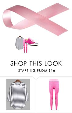 """""""shes in"""" by beccawoohoo ❤ liked on Polyvore featuring Boohoo and Converse"""