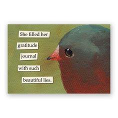 Gratitude Magnet – The Mincing Mockingbird & The Frantic Meerkat