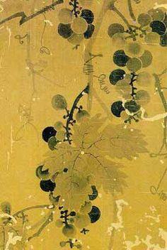 grape: Shin, Sa Im Dang (1604 ~1551 ), Chosun dynasty
