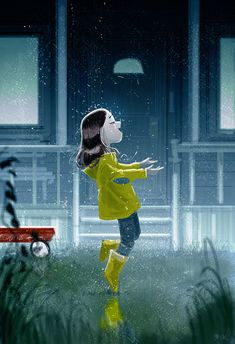 Sunday Rain! by Pascal Campion