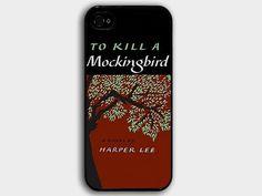 Iphone Case: Book To Kill A Mockingbird on Etsy, $14.90