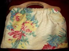 Vintage Knitting Bag
