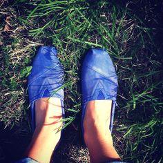 Blue toms for summer :)
