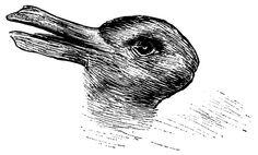 ¿Puedes ver el segundo animal? La ilusión óptica de hace 100 años que revela cómo está tu cerebro