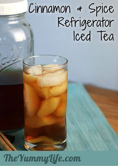 Cinnamon & Spice Refrigerator Iced Tea - Refreshing and naturally sweet