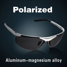 Aluminum Magnesium Alloy Polarized Sunglasses For Men Male Sport Driving Sun Glasses Oculos De Sol Gafas Lenses - Intl | Lazada PH