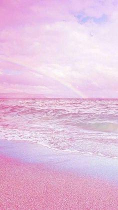 Beach Sunset Wallpaper, Ocean Wallpaper, Rainbow Wallpaper, Summer Wallpaper, Iphone Background Wallpaper, Scenery Wallpaper, Iphone Wallpaper Tumblr Aesthetic, Aesthetic Pastel Wallpaper, Aesthetic Wallpapers